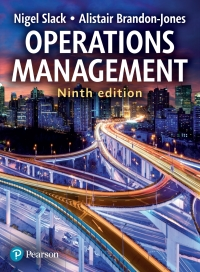 operation management 9th edition solution manual