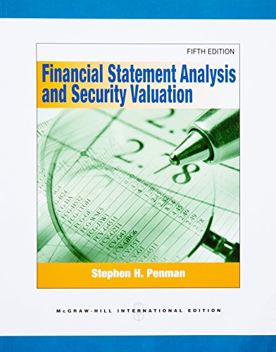financial statement analysis and valuation solution manual