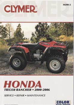 2004 honda rancher 400 at manual