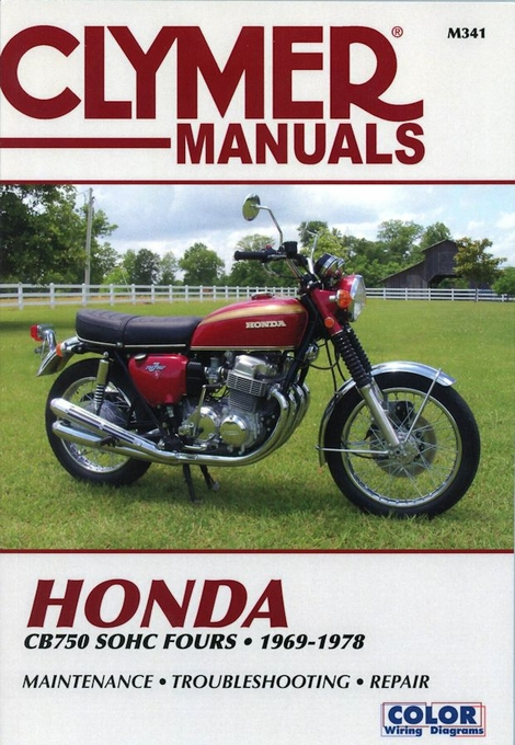1974 honda cb750 shop manual