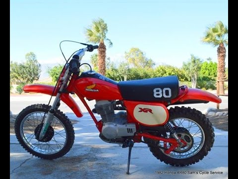 1982 honda xr80 service manual