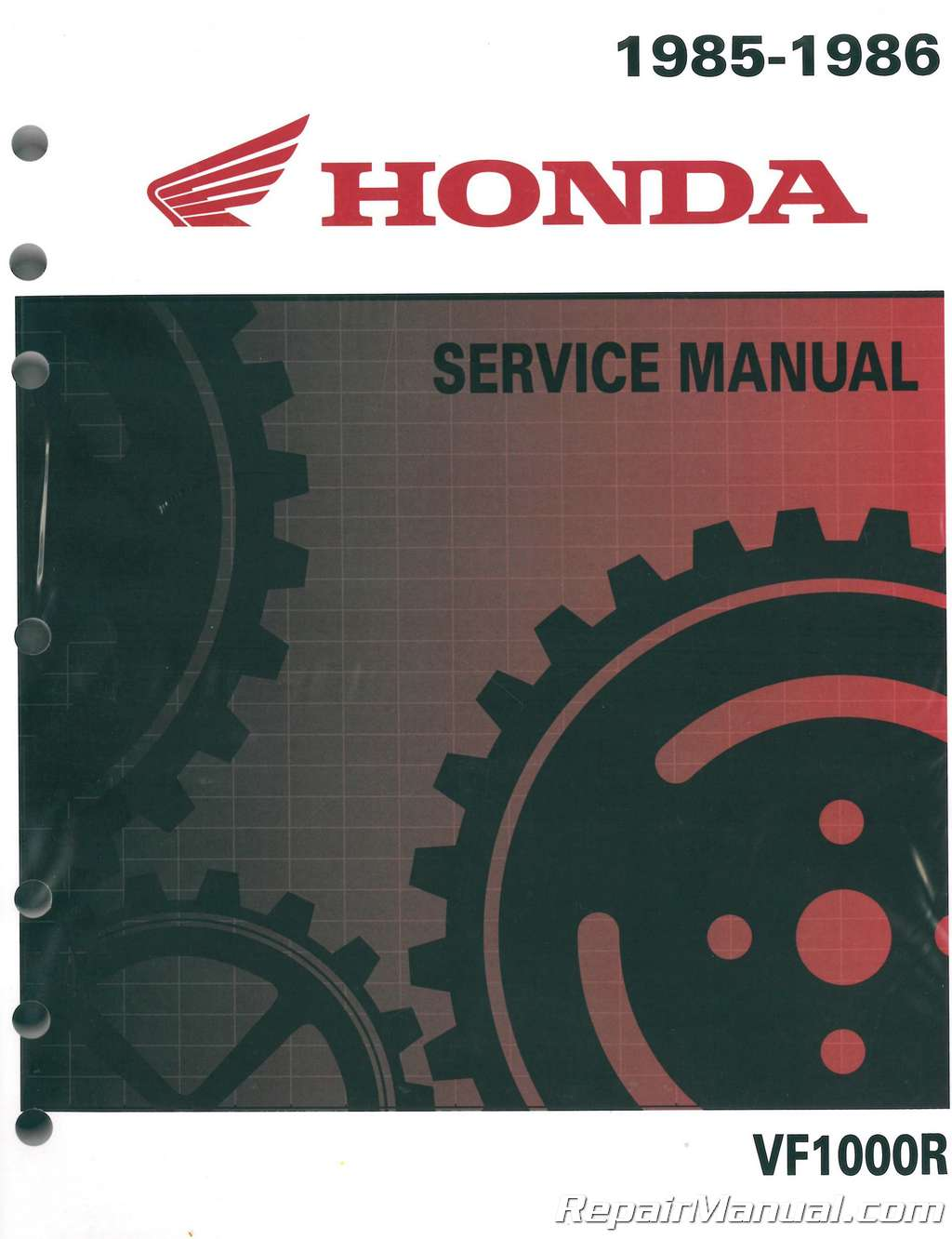 1985 honda vf1000 service manual
