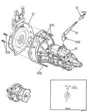 1993 ford ranger manual transmission parts