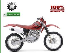 1996 honda xr200r service manual