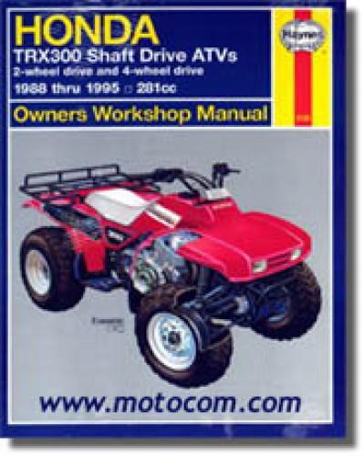 2000 honda atv repair manual