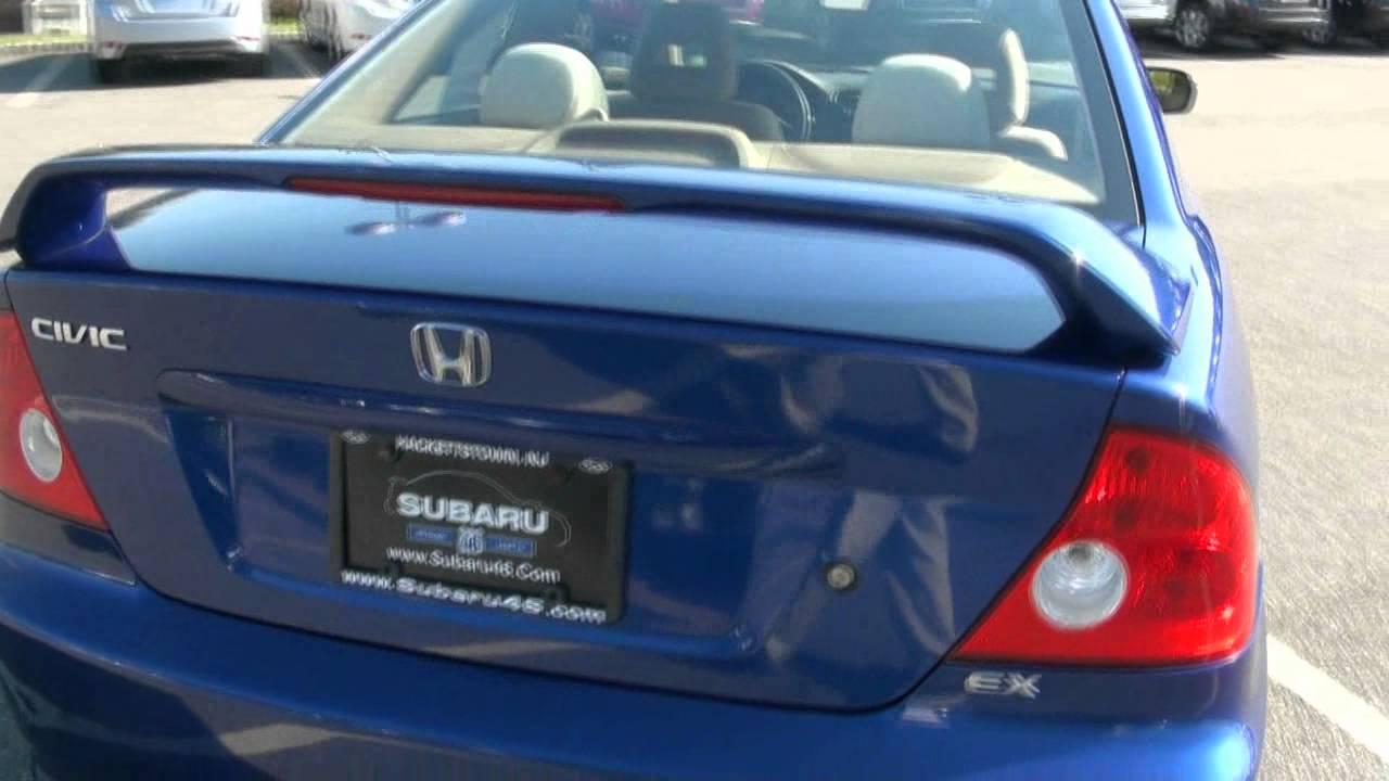2004 honda civic ex coupe manual