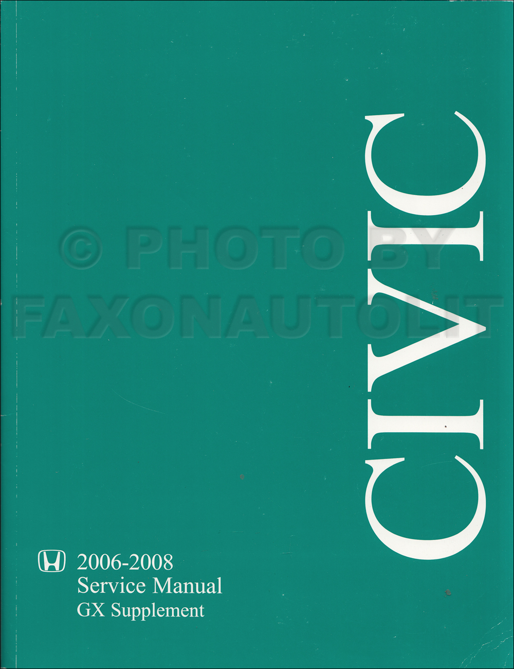 2006 honda civic ex repair manual
