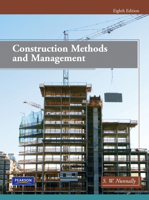 construction methods and management 8th edition solution manual