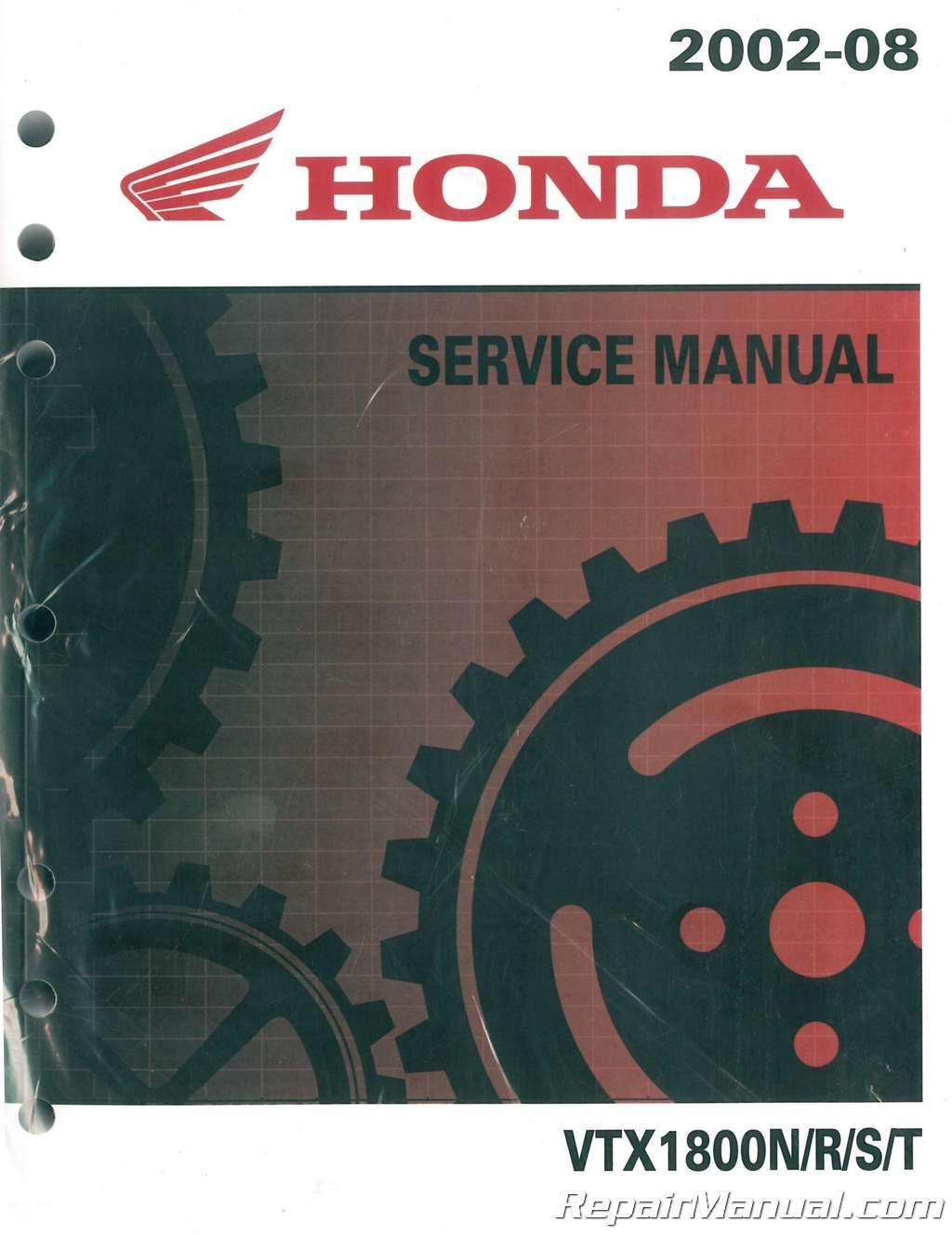 2002 honda atv owners manuals