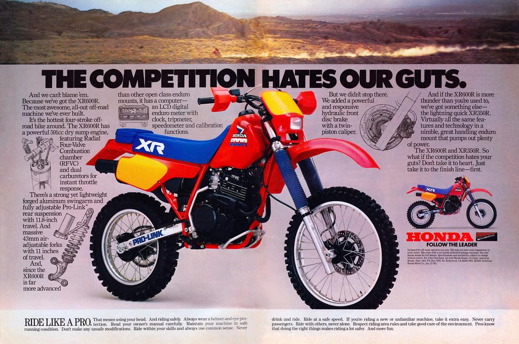 1984 honda xr 500 r building manual