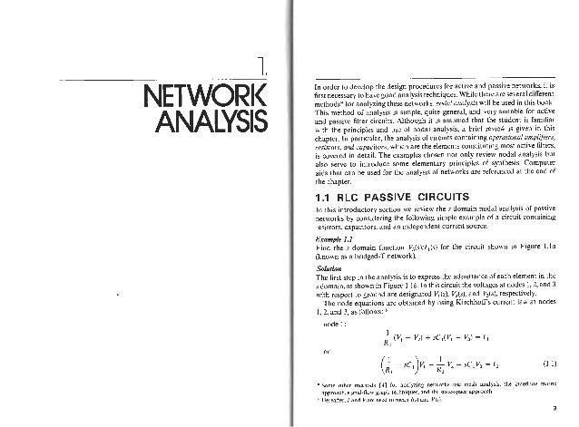 network analysis valkenburg solution manual chapter 1