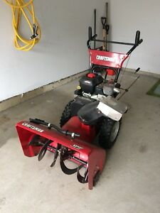 craftsman 8.5 hp 27 inch snowblower manual