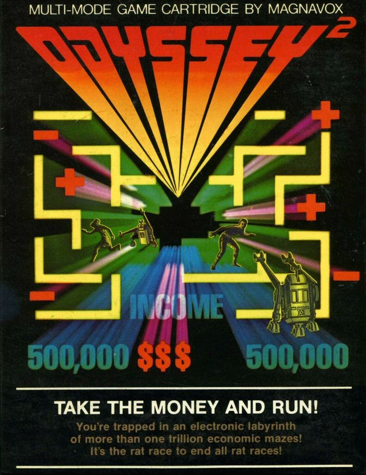 take the money and run magnavox odyssey 2 manual