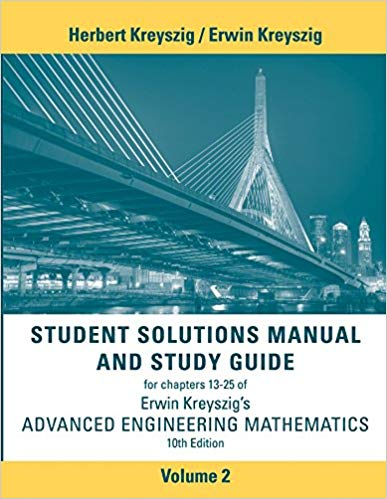 advanced engineering mathematics 10th edition solution manual free