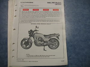 factory manual for 76 honda cb750