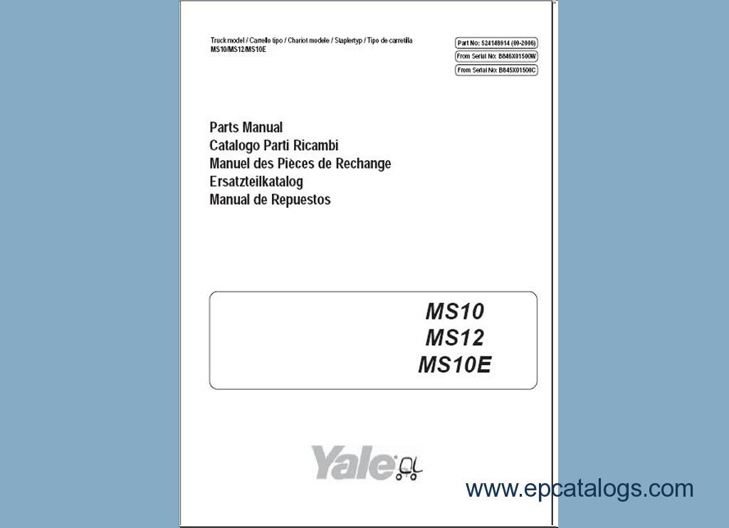 forklift parts manuals free download