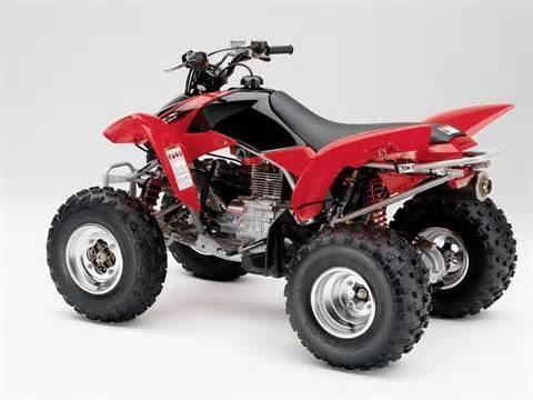 2018 honda trx250x owners manual
