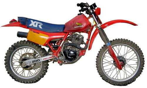 honda xr200 manual free download