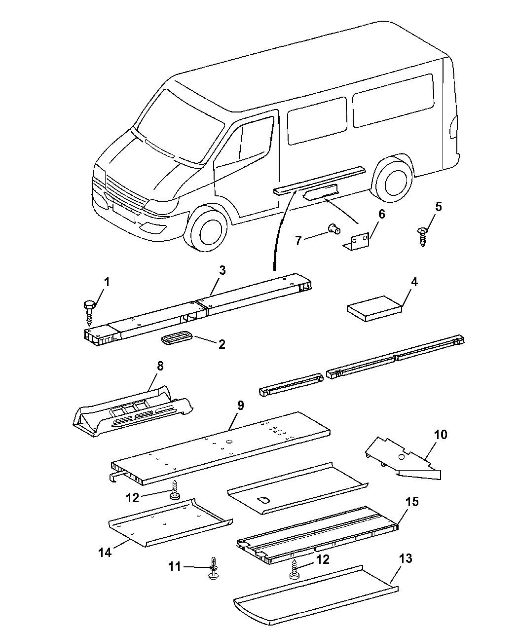 2006 dodge sprinter 2500 parts manual
