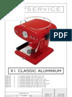francis francis x1 parts manual