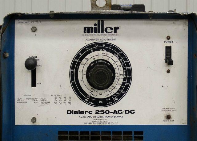 miller dialarc 250 parts manual