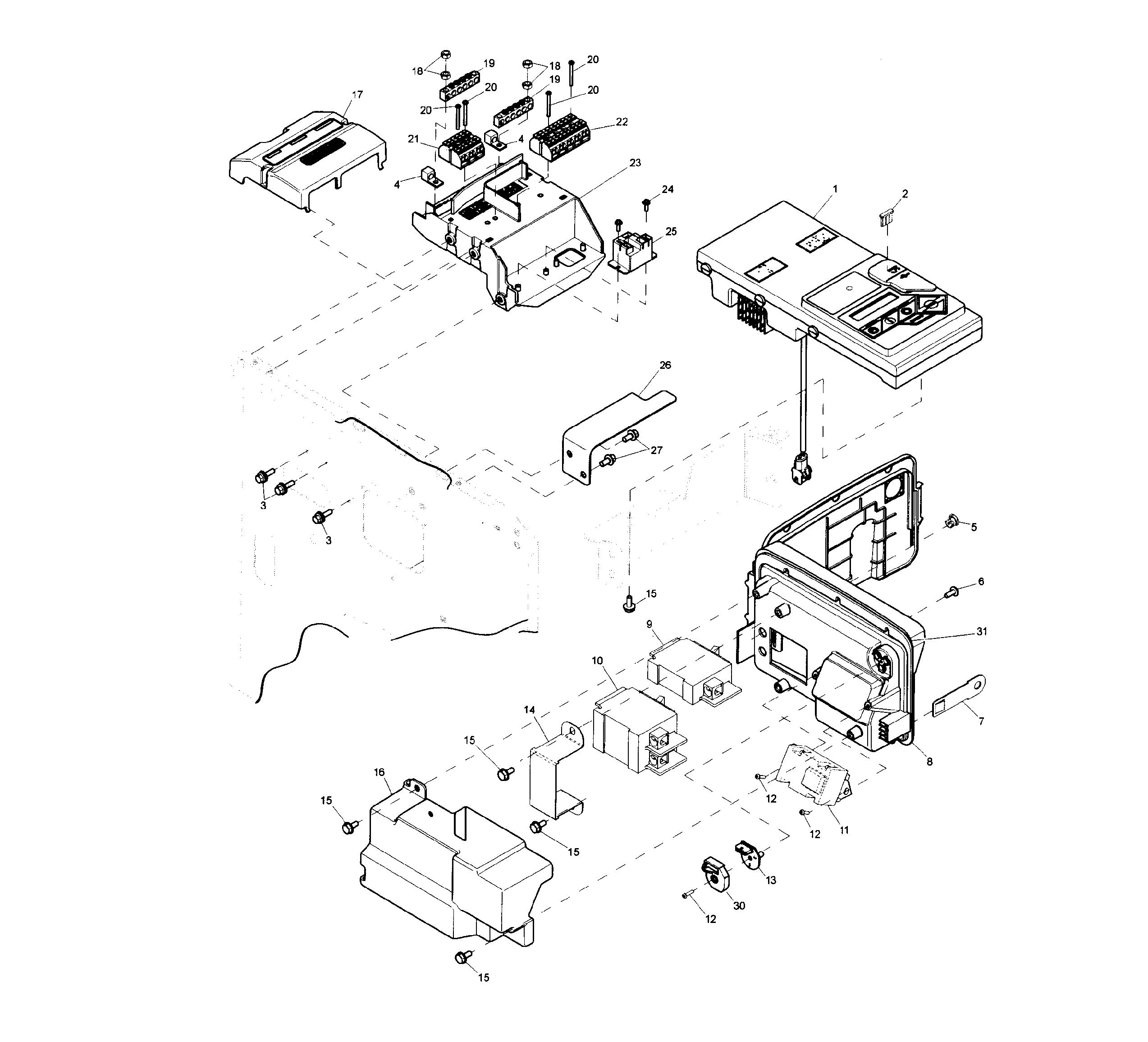 generac model 0057351 parts manual