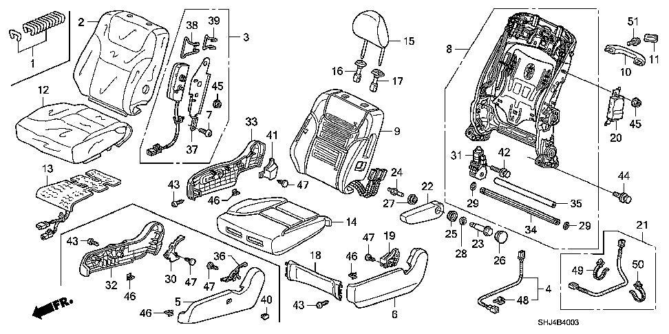 2005 honda odyssey touring parts manual