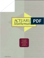 actuarial mathematics bowers solution manual