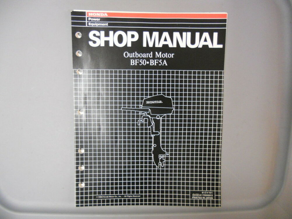 honda bf20 outboard service manual