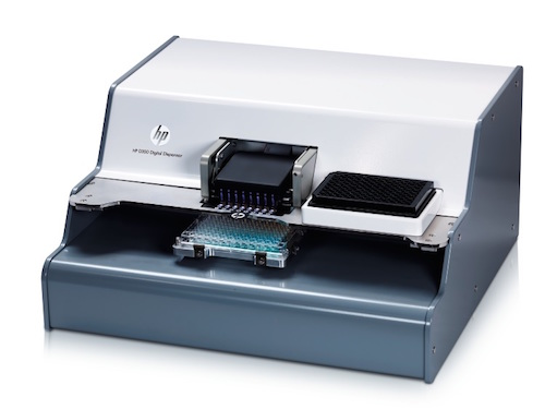 hp d300 digital dispenser manual