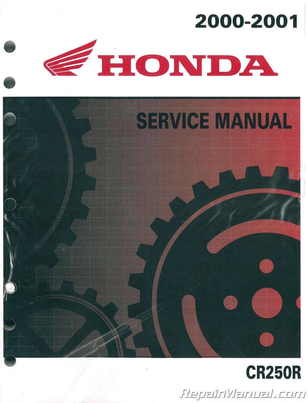 2000 honda cr250 pdf service manual