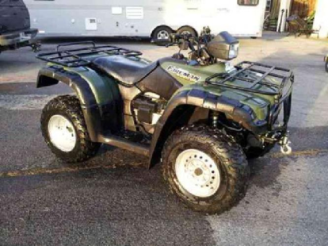 2002 honda foreman rubicon manual