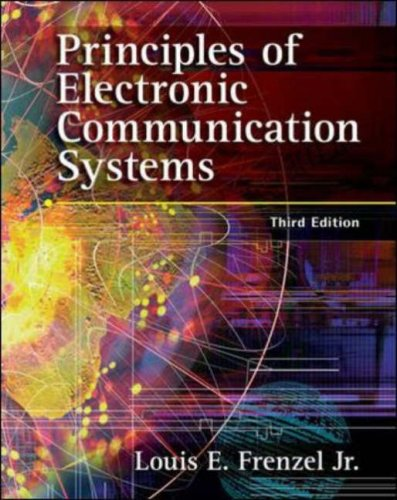 principles of electronic communication systems 4th edition solution manual