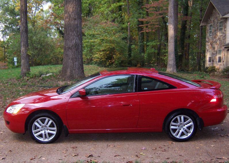 2004 honda accord ex coupe v6 manual