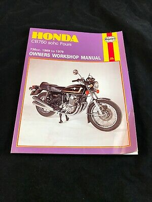 honda cb750 sohc workshop manual