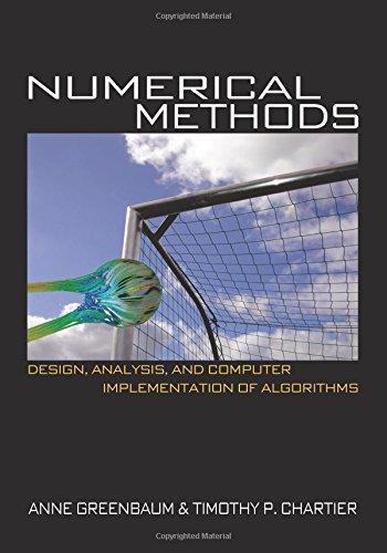 numerical methods anne greenbaum solution manual