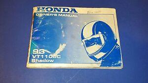 97 honda vt1100c owners manual
