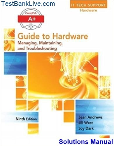 a guide to hardware solutions manual