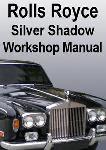 silver shadow 2 workshop manual