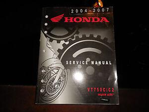 honda vt750c shadow aero service manual