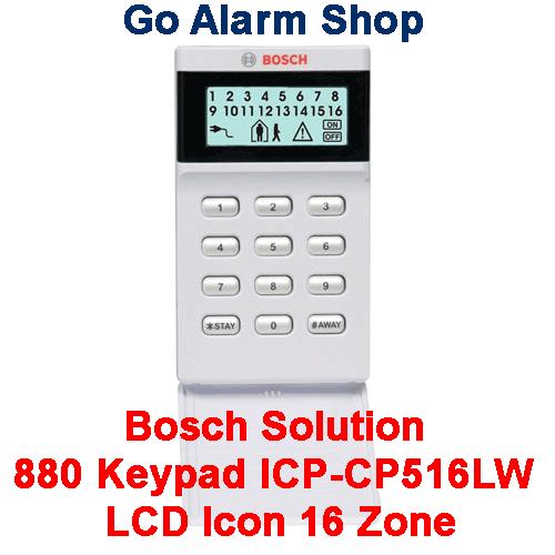 bosch alarm manual solution 880