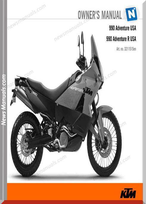 ktm 990 adventure parts manual