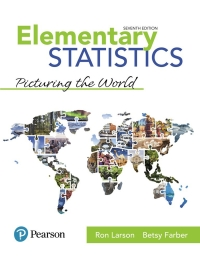 student solutions manual for elementary statistics picturing the world