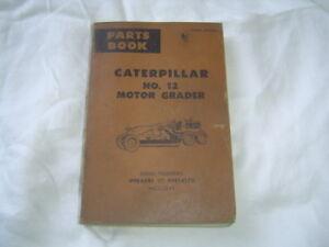 caterpillar 12 g parts manual