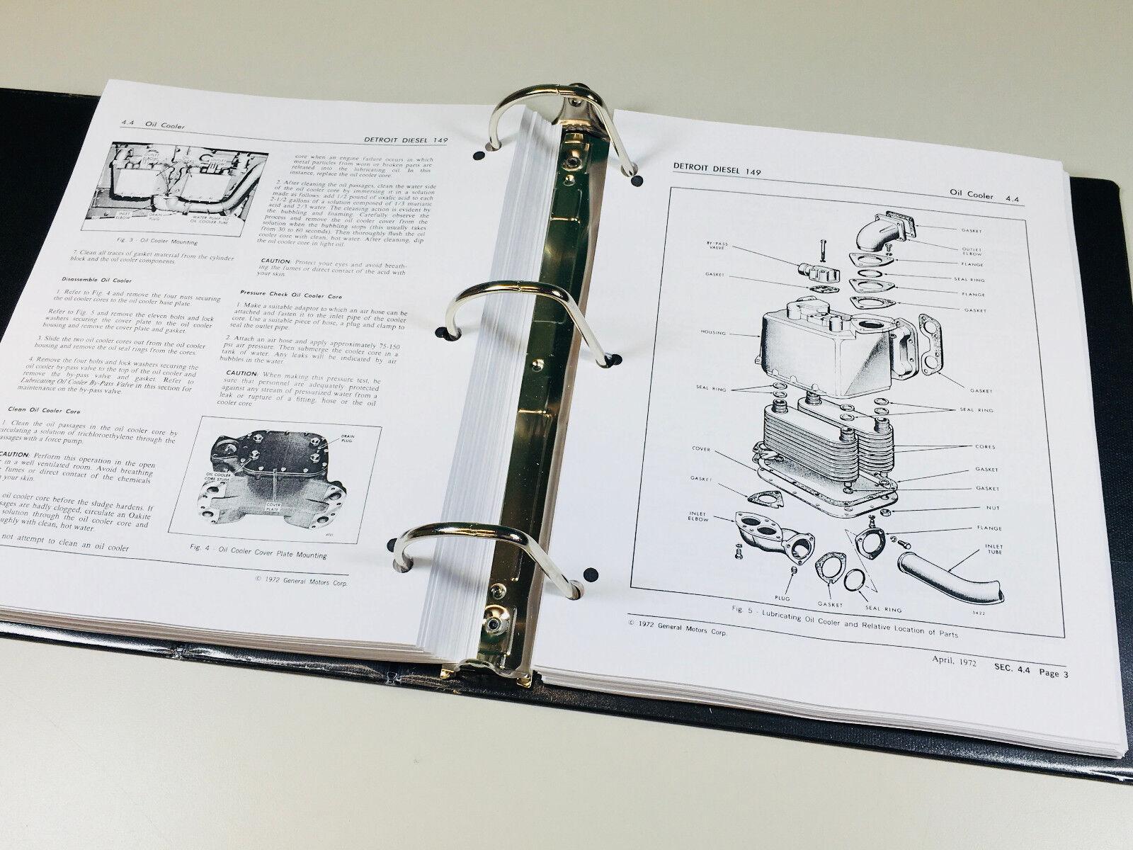 detroit diesel series 149 parts manual