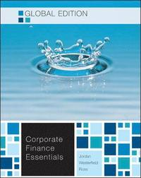 essentials of corporate finance stephen ross 9 solution manual