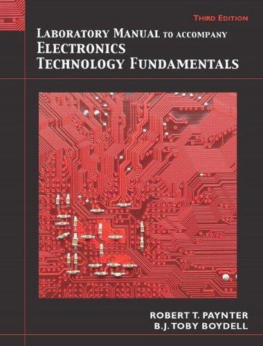 electronics technology fundamentals solution manual