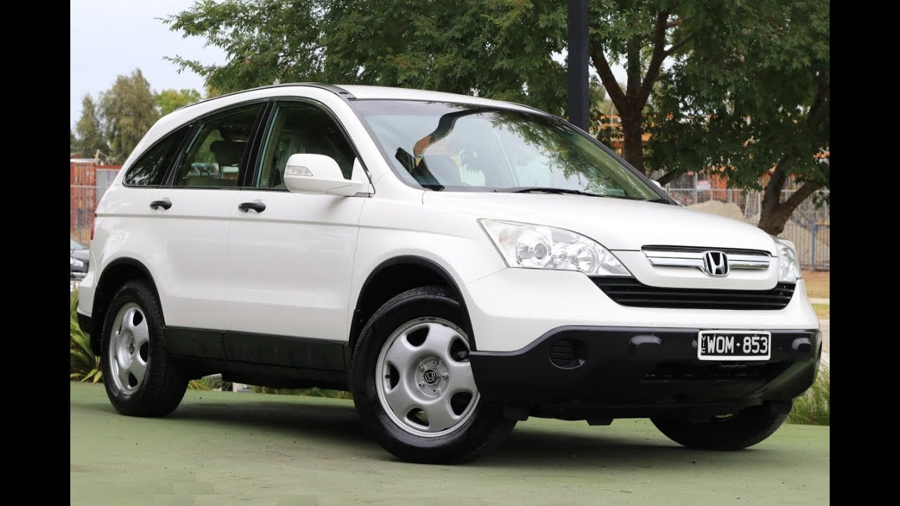honda crv 2007 manual book