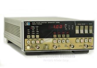 hp 8116a function generator user manual
