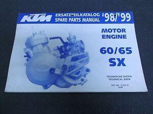 ktm 65 sx parts manual
